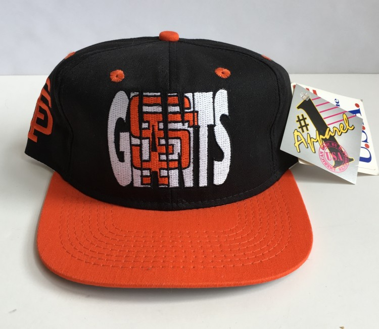 87d7c3cd Vintage San Francisco Giants Ghost MLB Snapback Hat | Rare Vntg