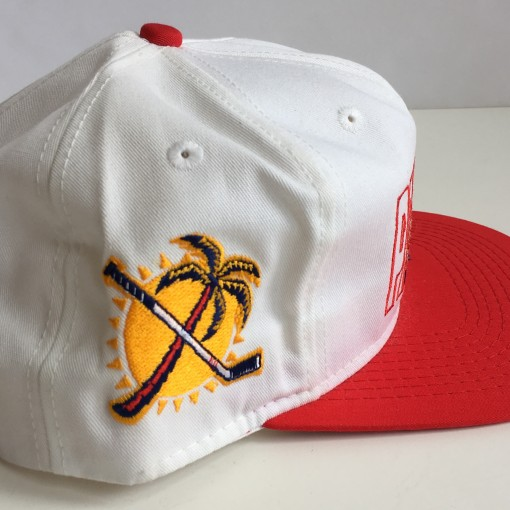 vintage florida panthers nhl snapback hat