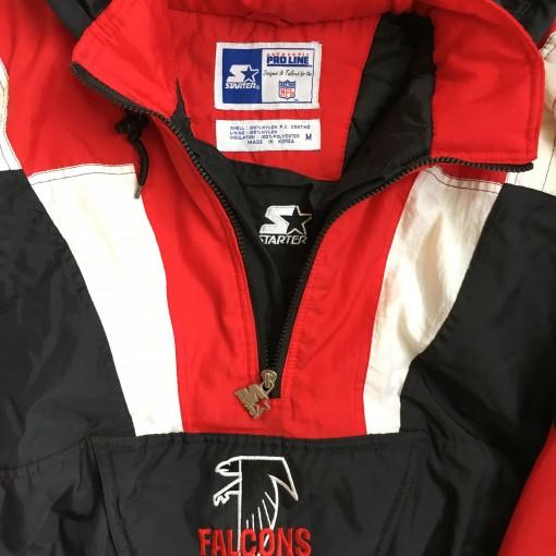 90's starter jacket falcons atlanta