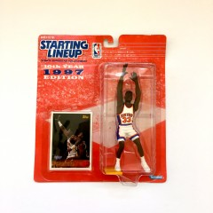 vintage 1997 Patrick Ewing New York Knicks Starting Lineup Toy Figure
