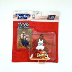 vintage toronto huskies damon stoudamire starting lineup toy