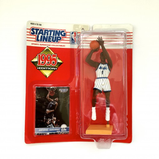 vintage 1995 penny hardaway orlando magic nba starting lineup toy figure