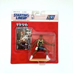 vintage 1996 reggie miller indiana pacers starting lineup toy figure