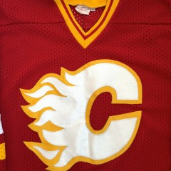 vintage Calgary flames NHL Jersey