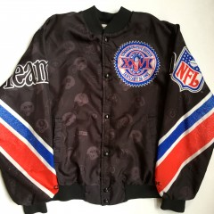 vintage 1992 Chalkline Super Bowl XXVI Fanimation jacket size large