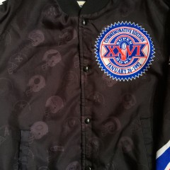 Super Bowl XXVII Chalkline jacket