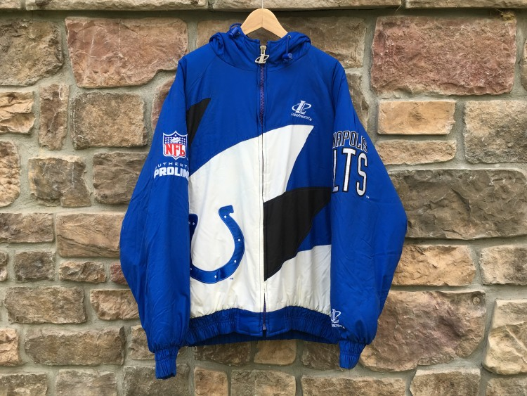 Indianapolis Colts Shark Tooth Logo Athletic Pro Line Authentic NFL  supplier