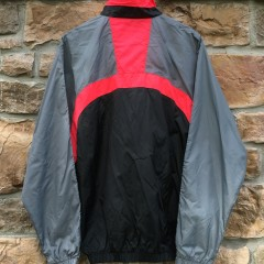 vintage 90's Nike Windbreaker Infrared