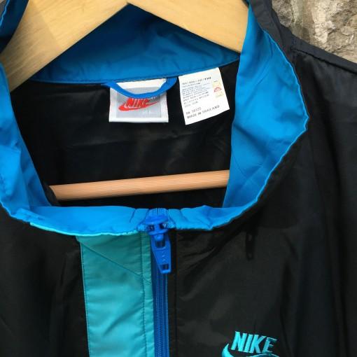 vintage Nike Grey white red tag windbreaker jacket