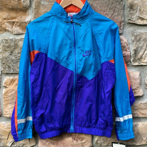 vintage Nike Windbreaker Jacket Youth XL