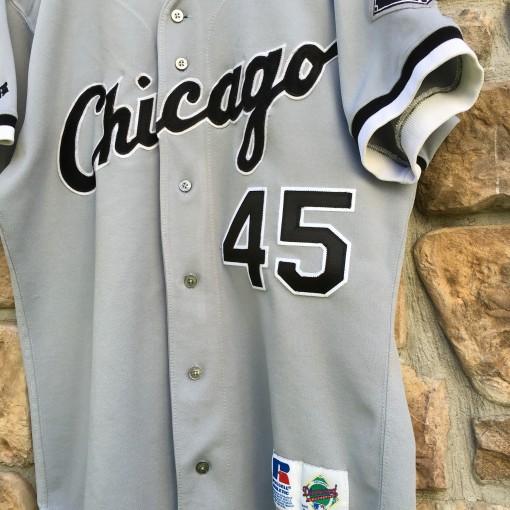 vintage michael jordan chicago white sox 1994 jersey authentic diamond collection