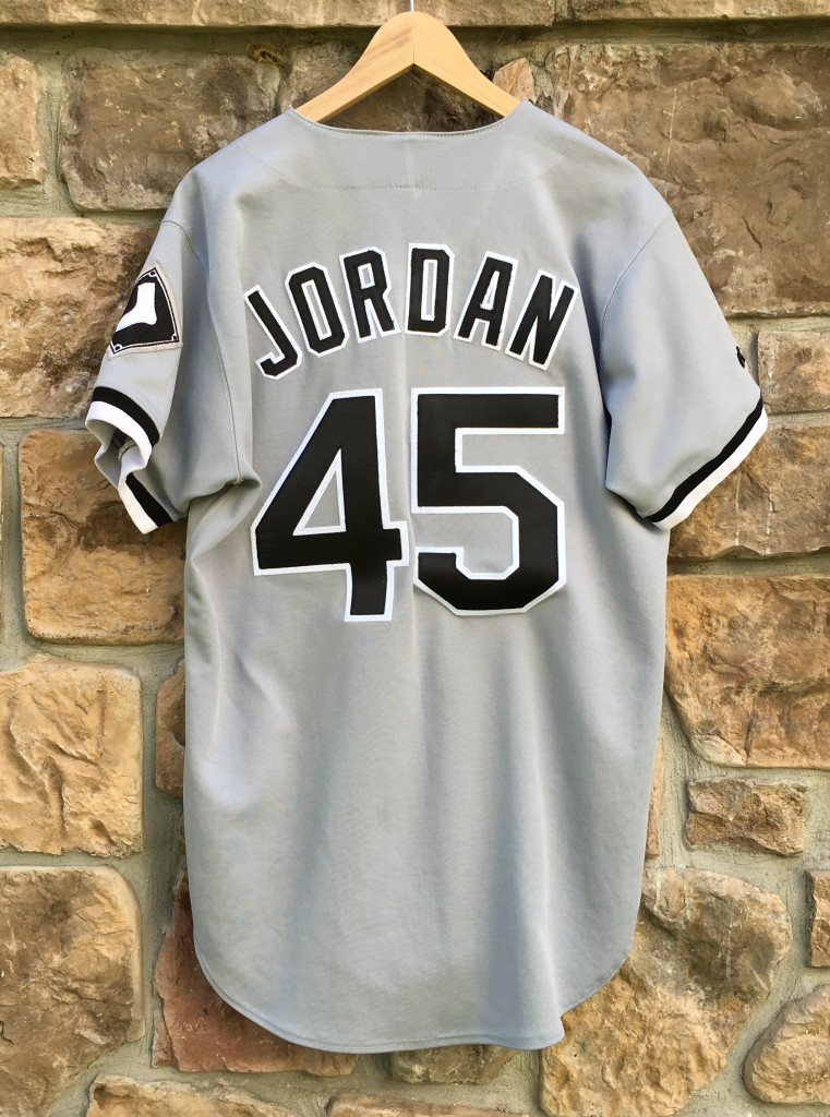 new products 1f360 108bf 1994 Chicago White Sox Michael Jordan Authentic Russell MLB Grey Jersey  Size 44