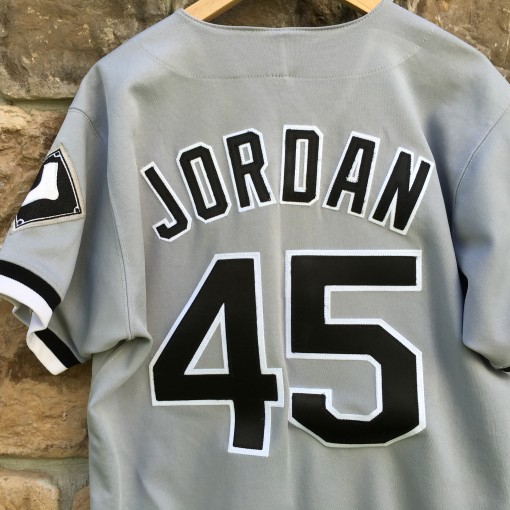 Mj white sox jersey authentic