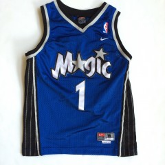 vintage tracy mcgrady t mac youth swingman orlando magic jersey