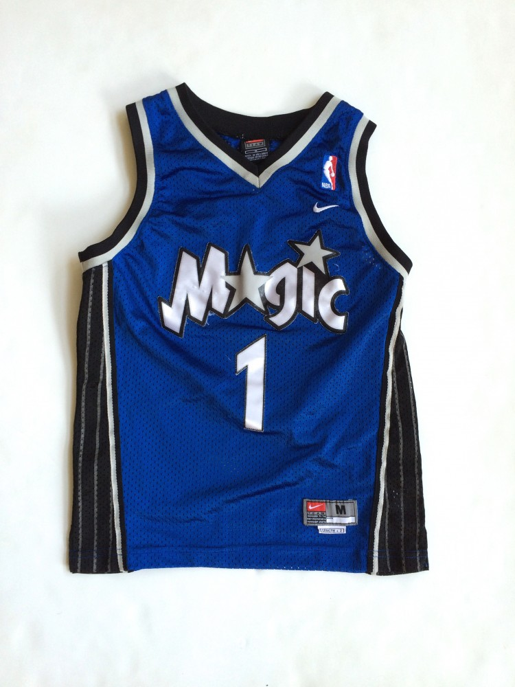 2001 Tracy McGrady Orlando Magic Nike Swingman NBA Jersey Youth ... 9168039d6