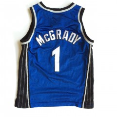 vintage tracy mcgrady orlando magic nike youth swingman jersey medium