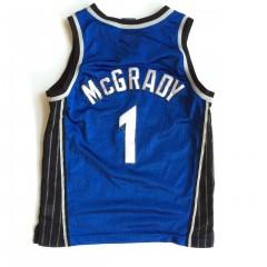 vintage tracy mcgrady orlando magic nike youth swingman jersey medium