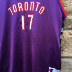 Master P #17 Authentic Toronto Raptors throwback jersey