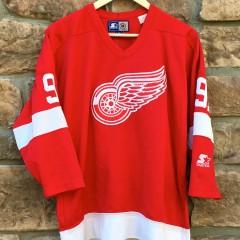 vintage Sergei Fedorov Starter Detroit Redwings NHL Jersey size L/XL