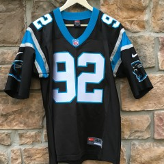 vintage 2000 AUTHENTIC Reggie White Carolina Panthers Jersey