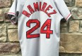 Boston Red Sox Manny Ramirez throwback jersey size small