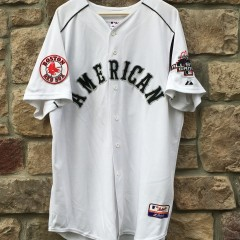 2003 American League authentic MLB All Star jersey manny ramirez