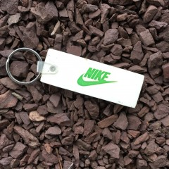 vintage Nike Air just do it keychain 80's