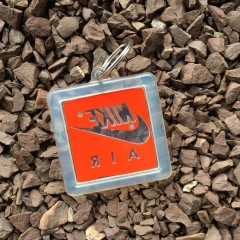 nike air bubble keychain vintage 80's air jordan