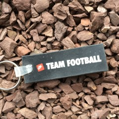 vintage nike team football keychain