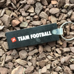 80's nike team football keychain