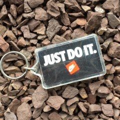 vintage 80's Nike Air Just do it keychain