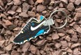 vintage nike air soccer cleat keychain