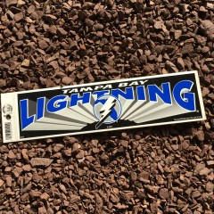 vintage tampa bay lightning nhl bumper sticker