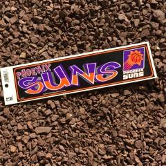 vintage Phoenix suns NBA bumper sticker