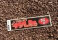 vintage san francisco 49ers nfl bumper sticker