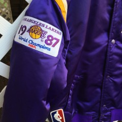 1987 world champions Lakers Starer jacket