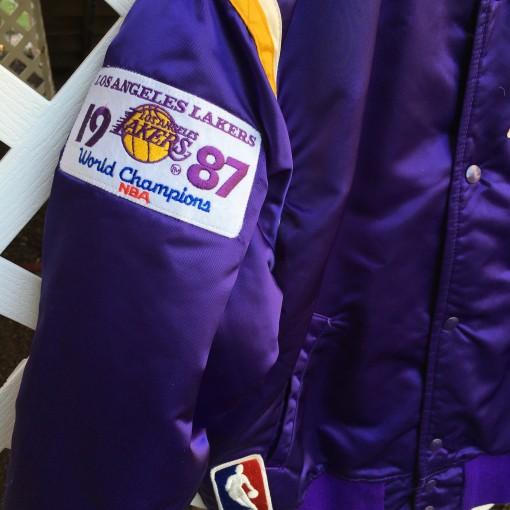 1987 world champions Lakers Starer jacket