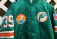 custom miami dolphins starter satin jacket