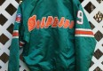 vintage miami dolphins starter satin jacket