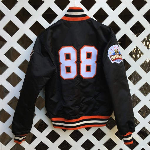 Lindros Flyers Custom Starter Satin jacket