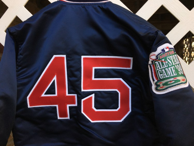 1999 Boston Red Sox Pedro All Star Game Custom Starter