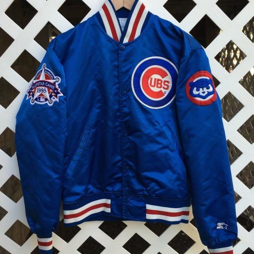 Custom 1995 MLB All Star Game Sammy Sosa Cubs jacket