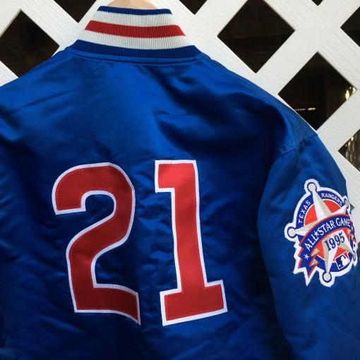 Custom Sammy Sosa Starter Satin jacket
