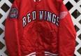 Rare Vntg Custom Detroit Redwings Starter satin jacket 1997 stanley cup finals