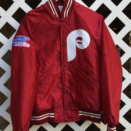 Mike Schmidt Philadelphia Phillies custom starter satin jacket