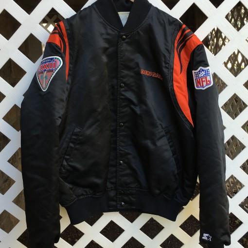 Custom Rare Vntg Anthony Munoz Bengals starter jacket