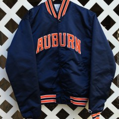 vinage Auburn Starter Satin Jacket
