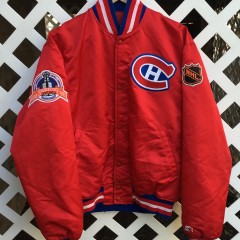 1993 Patrick Roy Montreal Canadiens Starter Satin jacket