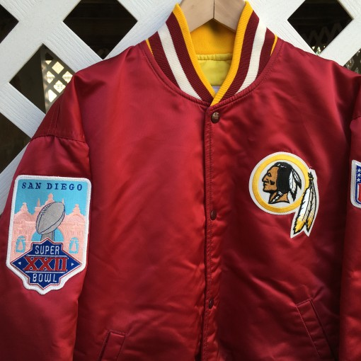 Redskins Super Bowl XXII Jacket