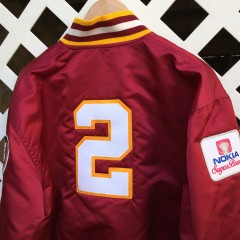 deion sanders nokia sugar bowl florida state seminoles custom starter jacket